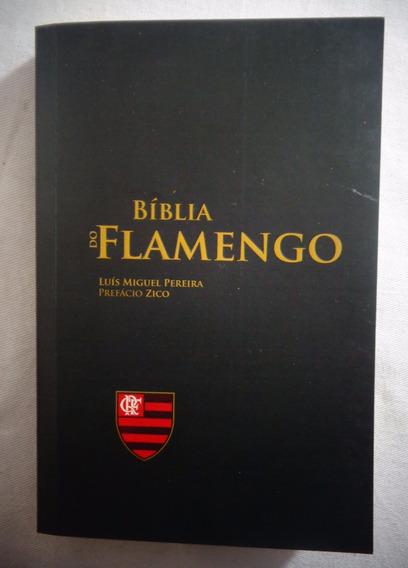 Livro Bíblia Do Flamengo Futebol Zico Luis Miguel*