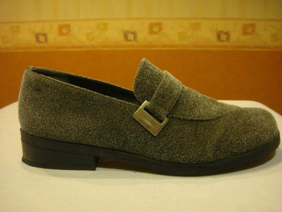 Pierre Carden Zapatos Gamuza Color Gris Nro Bra 38 Usa 9 Mer