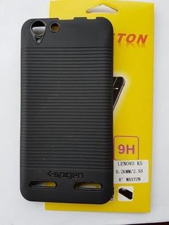 Capa Case Spigen Lenovo Vibe K5 + Película Vidro Aplico