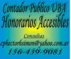 Contador Publico U.b.a... - Honorarios Accesibles