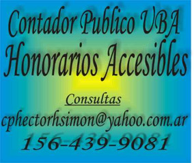 Contador Publico U.b.a.. - Honorarios Accesibles