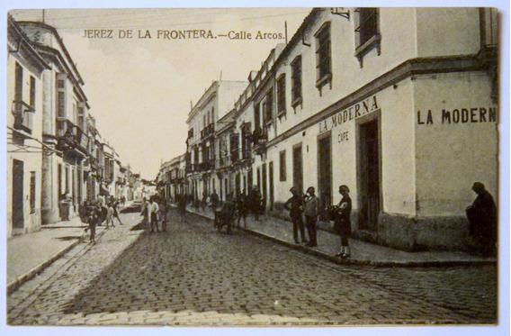Postal Jerez De La Frontera Calle Arcos