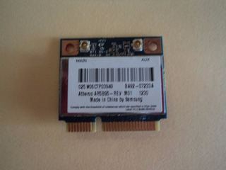 Tarjeta Wifi Samsung Np300e4c Atheros Ar5b95