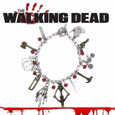 Pulseira The Walking Dead Cutelo Besta Algema