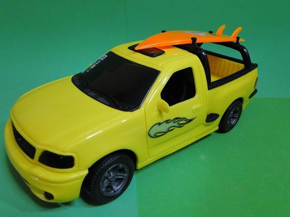 Amarela Pickup Ford Svt F150 Prancha Surf Comp.25cm