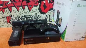 Xbox 360 + 30 Jogos 160gb + Controle + Kinect Faço Desconto!