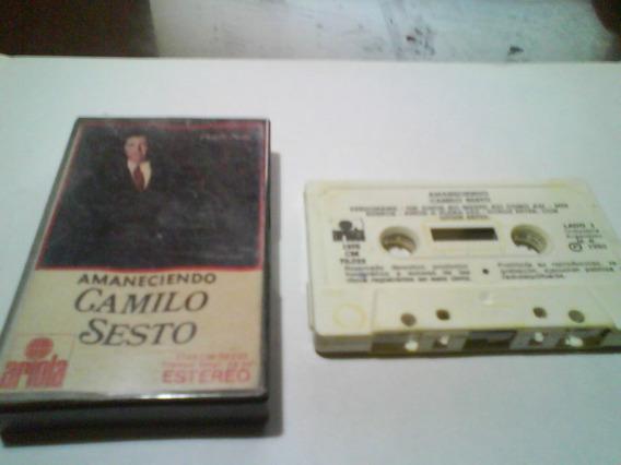 Camilo Sesto Amaneciendo Cassette Nacional-.,okkk