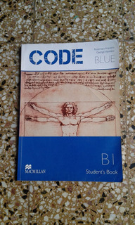 Libro Texto Ingles-code Blue ,red,green, Book