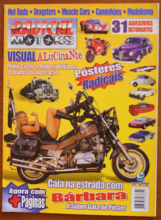 Revista Radical Motors Nº 2 Bárbara Paz