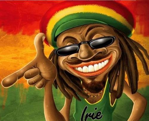 Camisa Camiseta Rasta Irie Jamaican Reggae Emborrachada