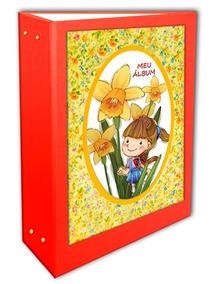 Àlbum Menina Entre Flores 10x15 - 600 Fotos + Brinde Especia