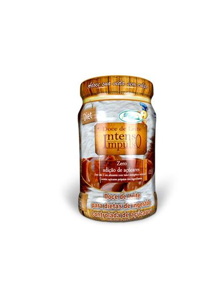 Doce Da Montanha - Doce De Leite - Diet - Pote - 220g