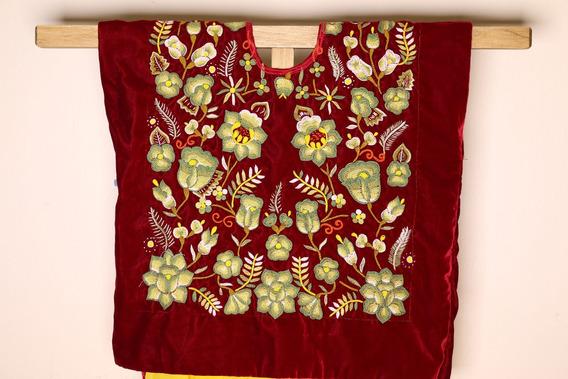 Ropa Étnica, Blusa Estilo Frida Kahlo, Poncho Tradicional