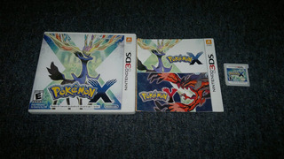 Pokemon X Completo Para Nintendo 3ds,checalo