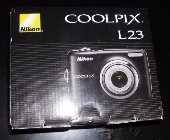 Camara Nikon Coolpix L23 10.1mp 5x