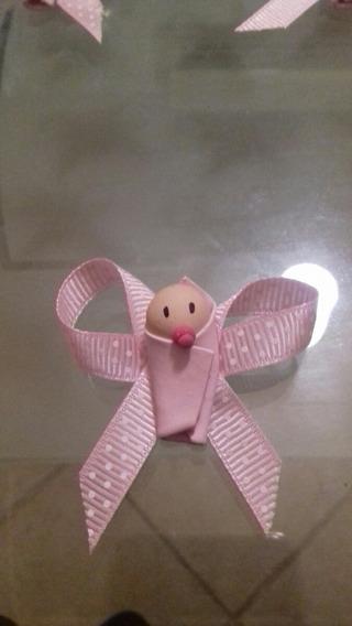 Baby Shower Arcilla Niña O Niño Distintivos Bautizos
