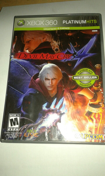 Devil May Cry 4 Xbox360,original Frente Grátis.seminovo.