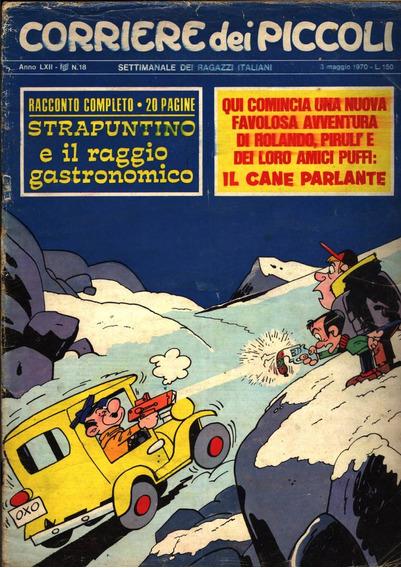 Quadrinhos Corriere Dei Piccoli N.18-1970