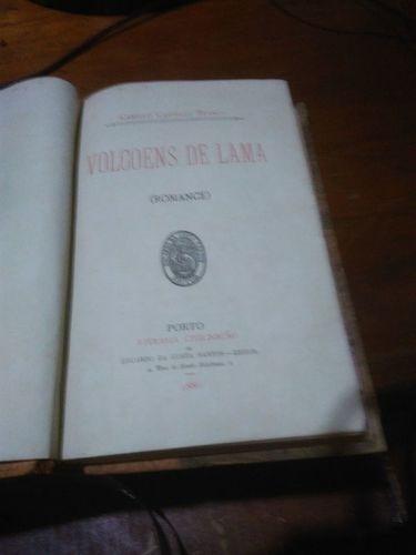 Livro Volcoens De Lama (romance) Camillo Castello Branco