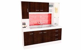 Muebles De Cocina Color Wengue - Amoblamientos Completos en Moreno ...