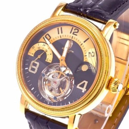 Relógio Constatim Tourbillon Original De Luxo