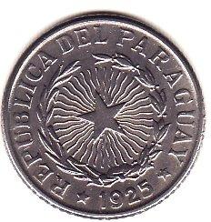 Paraguay,1 Peso 1925