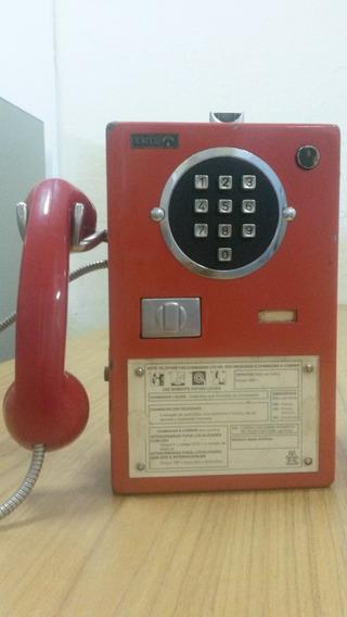 Telefone Orelhão Publico Antigo Completo E Original