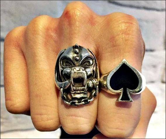 Anel Az De Espadas Ace Of Spades Motorhead Frontman Lemmy Ki