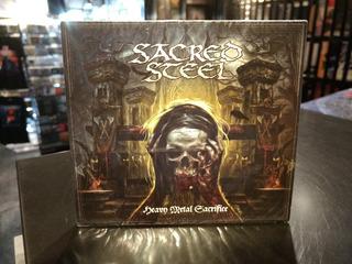 Sacred Steel Heavy Metal Sacrifice Cd Digipak