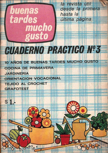 Buenas Tardes Mucho Gusto - Cuaderno Práctico Nº 3