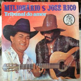 Lp- Milionário E José Rico- Tribunal Do Amor
