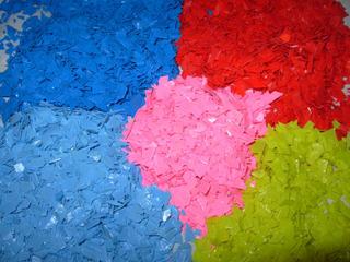 Scrap Plastico Colores (acetato De Celulosa)