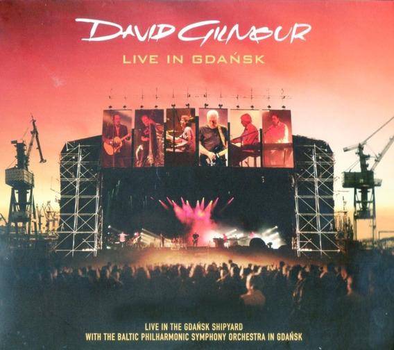 **david Gilmour (pink Floyd) **live In Gdansk** 2cds+dvd**