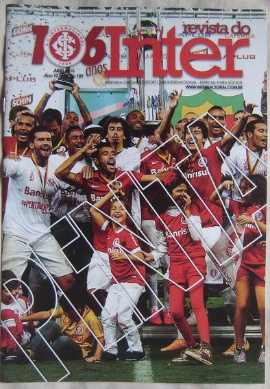 Revista Do Inter - Edição 105 - Abril De 2015.