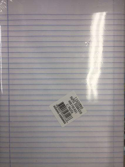 Folha De Papel Almaço Com Pauta / Pacote Com 400 Folhas