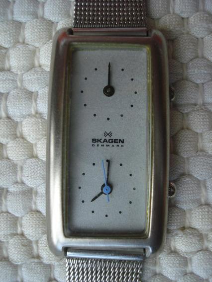 Relógio Skagen 20sss Feminino Dual Time ! Invicta