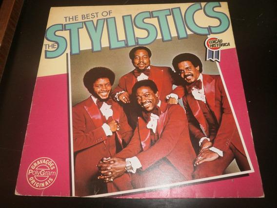 Lp The Best Of The Stylistics, Disco Vinil Seminovo, 1986