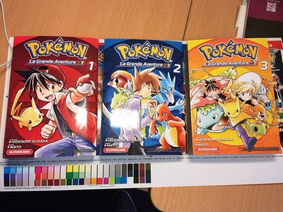 Mangá Pokémon Adventures (red, Blue, Green & Yellow)