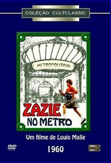 Dvd Filme Zazie No Metro Original Cult Classic Raro Novo !