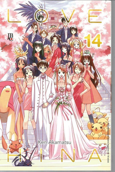 Love Hina Vol.14 De Ken Akamatsu Ed. Jbc - Nova Ediçao -