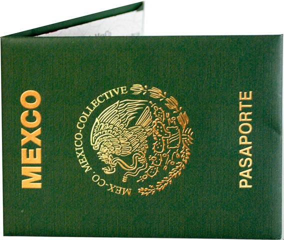 Moon Wallet - Pasaporte Mex - Cartera De Papel