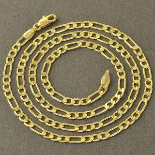 Cadena En Oro Laminado 4mm