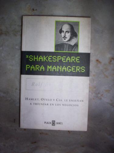 Rolf Breitenstein Shakespeare Para Managers
