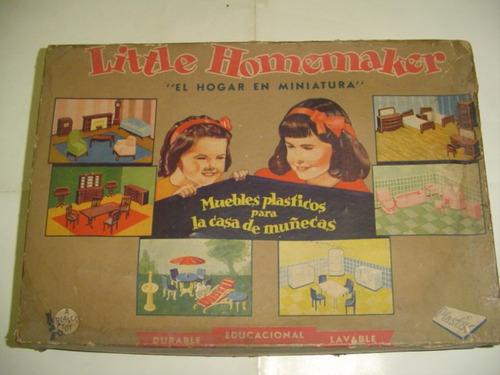Antiguo Juguete El Hogar En Miniatura No Ofrezco Envio Grati
