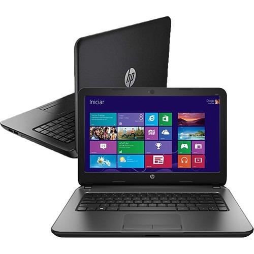 Notebook Hp 240 Com Intel Core I3 4gb 500gb Tela Led 14 Win