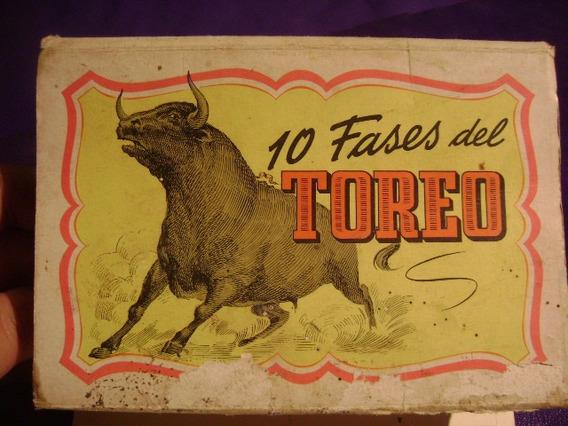 10 Postales De Torero Antiguo