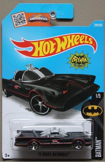 Hot Wheels Tv Series Batmobile - Preto Fosco