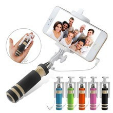 Vara Pau De Selfie Handheld C/ Dobra Suporte Para Smartphone