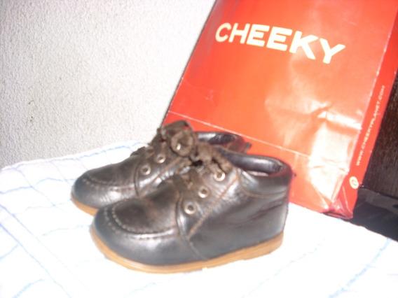 Botita Cheeky De Cuero Nº 20 Unisex