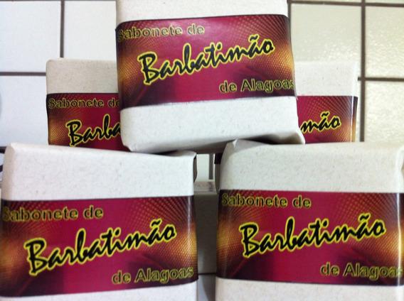 Sabonete Barbatimão 10 Und. (único 100% Natural)